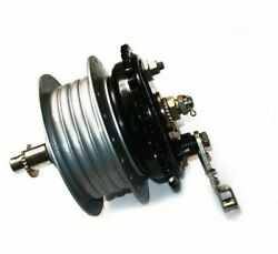Fits Royal Enfield Complete Rear Wheel Hub With Brake System Bearings And Axle Cdn
