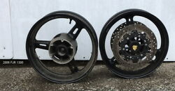 Yamaha Fjr 1300 2004 Wheels -rear And Front W/ Disc Used Motorcycle Parts