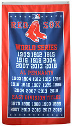 Boston Red Sox World Series Championship Flag 3x5 ft Sports Banner