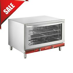 Commercial Oven Full Size Electric Stainless Steel With Steam Countertop 4600w