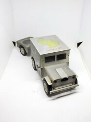 Vintage Baier Aluminum Willy Jeep And Trailer Germany 1951 Rolling Ashtray Lighter