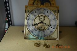Ridgeway Grandfather Clock Movement Only Serviced And Working For Project