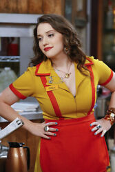 Kat Dennings - 2 Broke Girls Movie Screen Worn Costume  Tag & COA