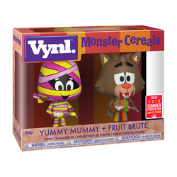 Funko Vynl. Ad Icons Yummy Mummy And Fruit Brute Sdcc Exclusive