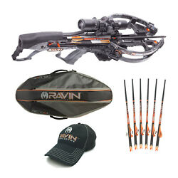 Ravin Crossbows R26 400 Fps Predator Crossbow Package With Soft Case Bundle