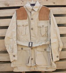 Vintage 1950andrsquos Red Head Brand Duck Hunting Jacket Tan Brown Fits The Sport Rare