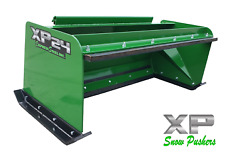5and039 Xp24 John Deere Snow Pusher W/ Pullback Bar - Tractor Loader - Local Pickup