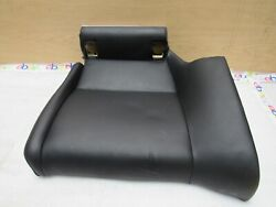 2009-2013 Bmw E92 M3 M Coupe Rear Left Bottom Seat Cushion In Novill Leather Oem
