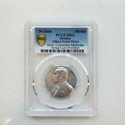 Sweden Nobel Nominating Committee For Medicine Silver Medal Nd Pcgs Sp62 No Date