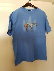 TRAIL OF PAINTED PONIES HORSE FEATHERS T Shirt Tee SHORT SLEEVE Size M