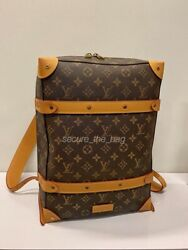 100% Authentic New Louis Vuitton X Virgil Soft Trunk Backpack PM Monogram Legacy