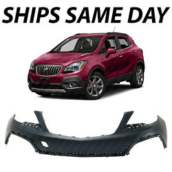 New Primered Front Upper Bumper Cover Fascia For 2013-2016 Buick Encore 13-16