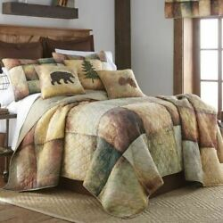 Rustic Cabin Lodge Primitive Wood Patch Quilt Collection Donna Sharp