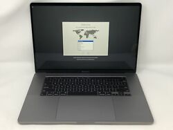 Macbook Pro 16-inch Space Gray 2019 2.3ghz I9 16gb 1tb Ssd Excellent Condition