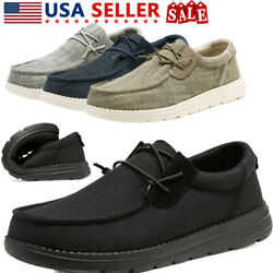 Bruno Marc Men#x27;s Canvas Slip on Casual Loafer Shoes Moccasin Walking Shoes