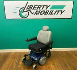 Pride Mobility Jazzy Select 6 Power Wheelchair -300lb Weight Capacity Lm7410