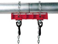Chain Metal Pipe Tube Welding Clamp Vise 1/2 To 8 Capacity Swivel Nuts And Pins