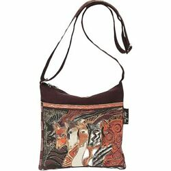Laurel Burch Crossbody 10#x27;#x27;X10#x27;#x27; Moroccan Mares $29.99
