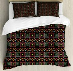 African Duvet Cover Set Twin Queen King Sizes With Pillow Shams Bedding