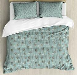 Vintage Duvet Cover Set Twin Queen King Sizes With Pillow Shams Bedding