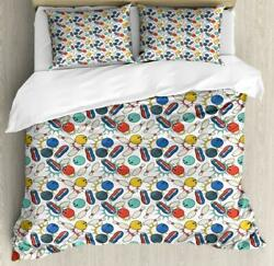 Bowling Duvet Cover Set Twin Queen King Sizes With Pillow Shams Bedding