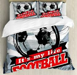 Colorful Sports Duvet Cover Set Twin Queen King Sizes With Pillow Shams