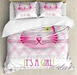 Gender Reveal Duvet Cover Set Twin Queen King Sizes With Pillow Shams