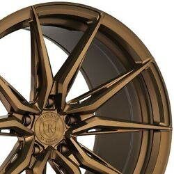 4 20 Staggered Rohana Rfx13 20x10.5 20x12 Bronze Concave Wheels Forged A3