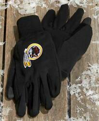 Washington Redskins --texting Gloves--one Size Fits Most