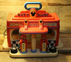 Disney Store Exclusive Mickey Mouse Clubhouse Gas 'n Wash Car Wash Playset Toy