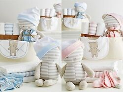 Beary Special 10-pc Baby Welcome Set Boys Or Girls Infant Gift Shower Party
