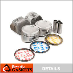 Pistons And Rings Fit Mazda 626 Protege Ford Probe Fs 2.0l