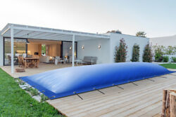 Inflatable Pool Cover Rectangular From Truck Tarp 24oz/m ² 48oz/m²