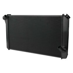 For Chevy Corvette 73-76 Afco Muscle Car Performance Radiator W Dual Fan