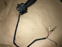 76 Yamaha Rd-400c Oem Throttle And Switch 1a0-83975-00-98