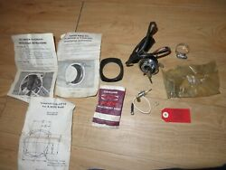 Nos Quicksilver Mercury Outboard Ignition Key Switch Harness Keys