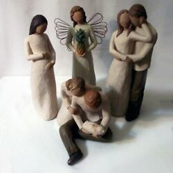 8 Willow Tree Collectibles, Angels, Pregnant, Mom, Mom And Dad, New Born