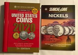 Nickels Search And Save Storybook With Collector Folder And 2020 Redbook