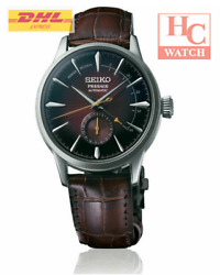 New Seiko Presage Ssa393j1 Automatic Cocktail Time Power Reserve Indicator Menand039s
