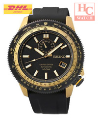 New Seiko Superior Ssa192k1 Limited Edition Automatic Analog Rubber Menand039s Watch