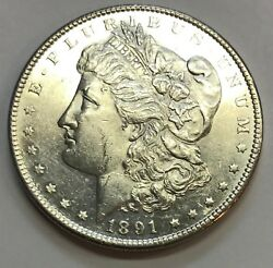1891-s Proof-like  Morgan Silver Dollar L@@k At Pictures 1134