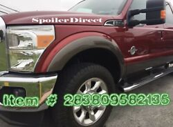 Fender Flares For 2011 2012 2013 2014 2015 2016 Ford F250 / F350 Super Duty