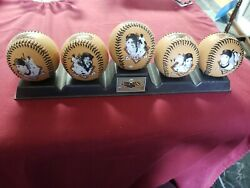 Sf Giants Legends Collectible Baseballs W/ Stand - 2005 Chevron