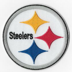 Pittsburgh Steelers I Iron On Patches Embroidered Patch Applique Badge Emblem