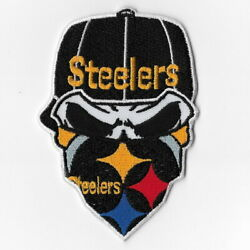 Pittsburgh Steelers Iv Iron On Patches Embroidered Patch Applique Badge Emblem