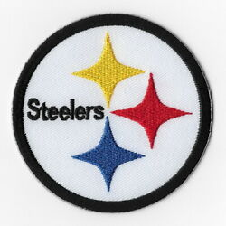 Pittsburgh Steelers Viii Iron On Patches Embroidered Patch Applique Badge Emblem