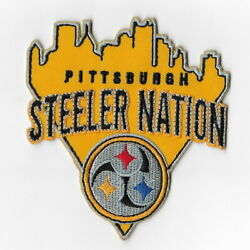 Pittsburgh Steelers Xi Iron On Patches Embroidered Patch Applique Badge Emblem