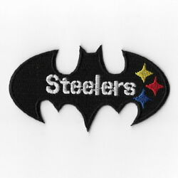 Pittsburgh Steelers Xii Iron On Patches Embroidered Patch Applique Badge Emblem