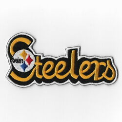 Pittsburgh Steelers Xiii Iron On Patches Embroidered Patch Applique Badge Emblem