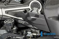 Ilmberger Gloss Carbon Fibre Air Intake Manifold Belt Covers Ducati Xdiavel 2020